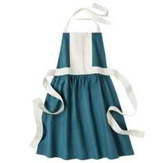 Threshold™ Kitchen Apron - Blue, just darling!