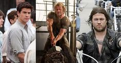 16 augustus 2013: Family business: Liam Hemsworth as Gale Hawthorne  in  The Hunger Games (2012),  Chris Hemsworth as Thor  in  Thor (2011)   Luke Hemsworth as Shadow in  Bikie Wars: Brothers in Arms (2012– )