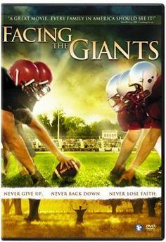 Not a book, but great fun!  Facing the Giants DVD: 6.99 + FREE Shipping!