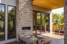 Terrace  Rustic Meets Luxury: Burlingame Residence by Toby Long Design and Cipriani Studios Design