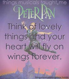 Peter Pan! My fave musical.