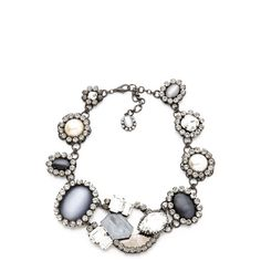 Erickson Beamon Matador Necklace ($860) ❤ liked on Polyvore featuring jewelry, necklaces, erickson beamon necklace, cluster necklace, glitter jewelry, swarovski crystal jewelry and erickson beamon