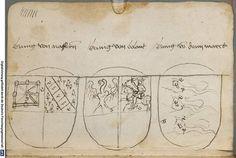 Ortenburger Wappenbuch Bayern, 1466 - 1473 Cod.icon. 308 u  Folio 226v