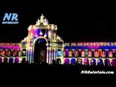 Espetáculo de Luzes no Terreiro do Paço em Lisboa (Video Mapping 3D) | N...