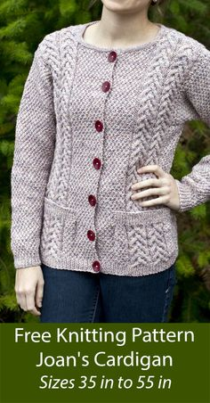 Cable Cardigan, Shrug Cardigan, Cardigan Pattern, Cropped Cardigan, Free Knitting, Knitting Patterns, Honeycomb Stitch, Girls Sweater Dress, Cardigan Design
