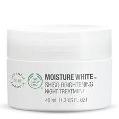 Kem dưỡng trắng da ban đêm MOISTURE WHITE™ SHISO NIGHT TREATMENT 40ml
