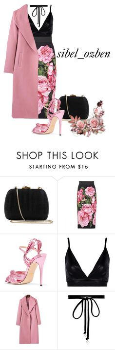 """""""Style"""" by sibelozben ❤ liked on Polyvore featuring Serpui, Dolce&Gabbana, Gucci, Boohoo and Joomi Lim"""