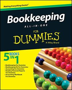 Amazon ❤ Bookkeeping All-In-One For Dummies by [Consumer Dummies]