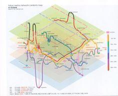 東京メトロの3Dマップ。  sawadaspecial.com: 地下鉄路線図が好き