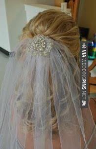 Wedding Hair With Veil Wedding hair with veil