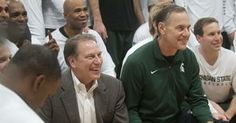 The Dynamic Duo!  Athlon Sports.com listed Izzo & Dantonio as #1 Basketball-Football Coaching pair in the nation, followed by #2 Ohio State and #3 Duke.
