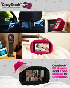 To make your Christmas shopping a little easier www.cozydock.com is offering free shipping and gift wrapping up until December 18th 2013. Christmas Shopping, Cool Gadgets, 18th, December, Lunch Box, Smartphone, Wraps, Gift Wrapping, Make It Yourself