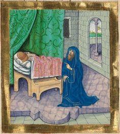 Furtmeyr-Bibel (Deutsche Bibel, Altes Testament, Bd. 2: Psalter - Maleachi) Cod.I.3.2.III 1468 - 1472 Folio 141v