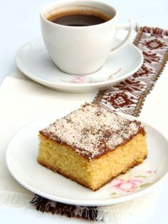 Ravanija is a Macedonian coconut-cake like dessert. It is usually served for Prochka, which is The Forgiveness Day. Forgiveness Day is where the younger generation goes to the house of their elders, usually their grandparents and they ask for forgiveness( wether they have done anything or not- they always ask) and this is when their elders serve them Ravanija.