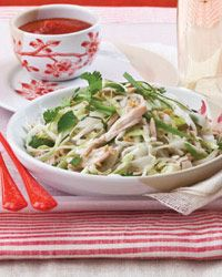 Rice-Noodle Salad with Chicken and Herbs Recipe