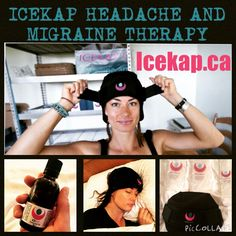 Icekap headache and migraine therapy makes a great gift for the holidays