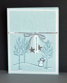 White Christmas - SSC84Linda Bauwin – CARD-iologist Helping you create cards from the heart. Are you following me on YouTube and my Pinterest Boards?