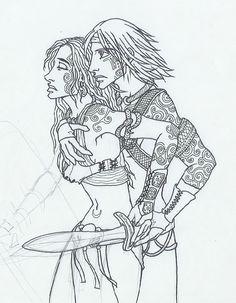 Steady My Sword by KidaGreenleaf.deviantart.com on @deviantART