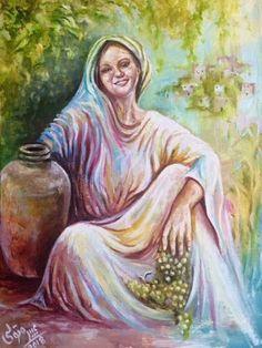 Arabian Art, Egyptian Art, Islamic Art, Painting, Egypt Art, Painting Art, Paintings, Painted Canvas, Drawings
