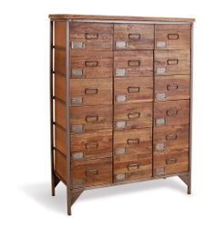 Industrial 18 draw Apothecary Chest Tall Boy £977