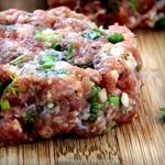 Tired of the same ol' burger? Add some flavor with feta and tomato! Only 1.3g net carbs.