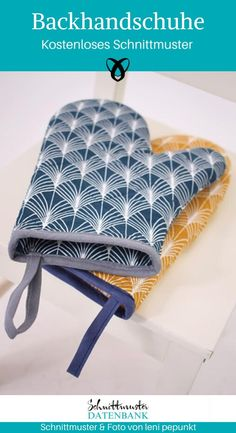 Oven gloves - Baking Gloves – Pattern Database Informations About Backhandschuhe Pin You can easily use my profi - Free Sewing, Free Knitting, Knitting Patterns, Sewing Patterns, Crochet Patterns, Hand Sewing, Crochet Penguin, Sewing Hacks, Sewing Tutorials