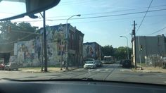Driving to Temple University, very bad area of about 30 minutes drive to the Campus.
