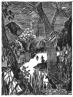 Night can either be scary or magical, depending on the company you keep. | 50 Lessons That Moomins Can Teach You About Life