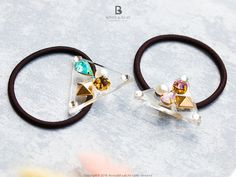 Bonny & Read 平價飾品 - 璀璨珠寶盒髮圈 / 2色  NT.147