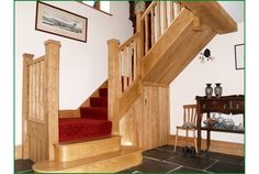The Blaen Ash Carved Staircase