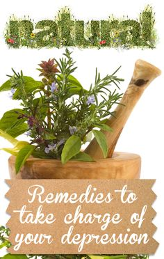 Best Natural Remedies to Take Charge of Depression! Really helpful <3 #natural #depression #remedy