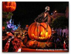 Jack Skellington at Hong Kong Disneyland Halloween Parade