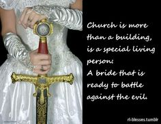 Church and Bride of Christ.