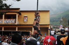 Palo encebao, Ferias de San Isidro Labrador. Santo Domingo, Mérida. Venezuela