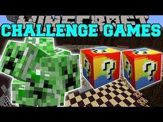 NEW Minecraft PAT vs JEN PopularMMOs VALKYRIE CHALLENGE GAMES Lucky Block Mod Modded Mini Game - YouTube