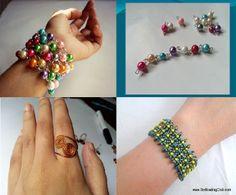 DIY Wire Jewelry: Rosary Beading Inspired Bracelet
