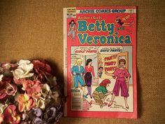 Archie Comics Group Series Archies Girls Betty and Veronica VTG Collectible Book