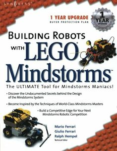 NXT MINDSTORMS WITH LEGO BUILDING ROBOTS