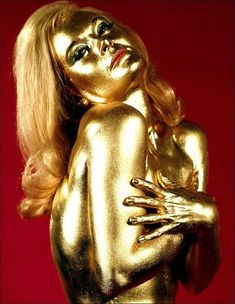 Bond Girls are forever - Shirley Eaton as Jill Masterson