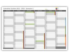 preview calendrier scolaire 2015 - 2016 semestre 1 Blinds, Divider, Curtains, Diy, Furniture, Home Decor, Day Of Year Calendar, School Calendar, Bricolage