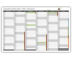 preview calendrier scolaire 2015 - 2016 semestre 1
