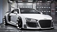 Audi R8 V10 - machine!