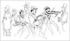 Dickens Fair | Citizen Sketcher