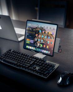 Adjustable Tablet Stand S - Lamicall Computer Desk Setup, Gaming Room Setup, Pc Setup, Office Setup, Tablet Holder, Tablet Stand, Ipad Stand, Ipad Accessories, High Tech Gadgets