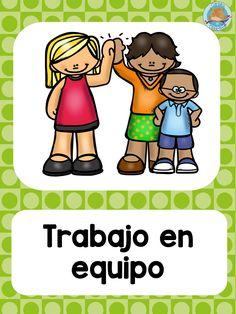 Classroom Rules, Preschool Classroom, Classroom Organization, Classroom Management, Preschool Spanish, Learning Spanish, Teacher Hacks, Best Teacher, School Binder Covers