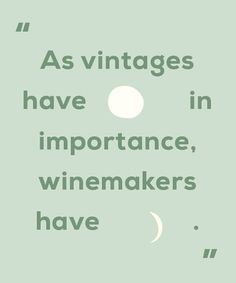 When it comes to buying wine, vintage charts and weather are SO over. #wine #history