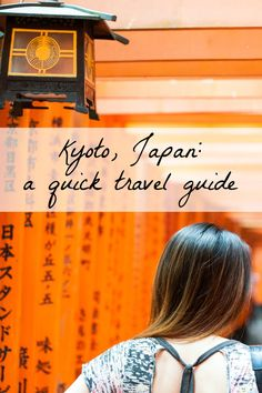 Kyoto was named Travel & Leisure's top city to visit! Don't miss this fabulous destination-- tips for visiting, where to stay, what to eat, and much more! #travel #kyoto