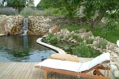 pool-like the idea of jumping from the deck Natural Swimming Ponds, Natural Pond, Agua Natural, Garden Pool, Water Garden, Swimming Pool Designs, Swimming Pools, Font Simple, Spa Jacuzzi
