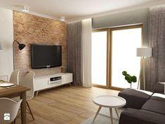 Dom W Rudzie Slaskiej Studio Living, Living Room Tv, Home And Living, Home Staging, Style At Home, Interior Exterior, Interior Design, Industrial Home Design, Home Planner