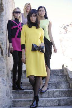 Visit the post for more. 2010s Fashion, Fashion News, Fashion Outfits, Haute Couture Fashion, Pierre Cardin, Fall 2016, Fashion Photo, Autumn Fashion, High Neck Dress